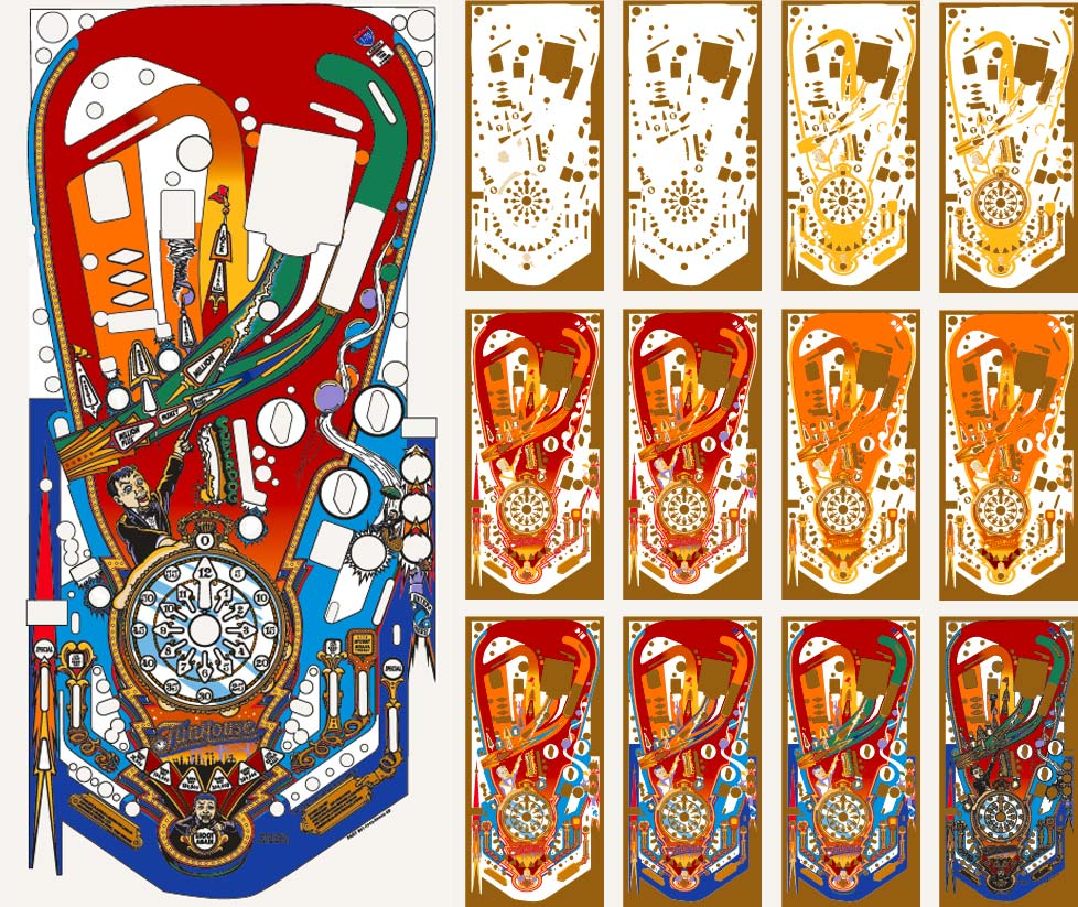 12-Color Screen Print