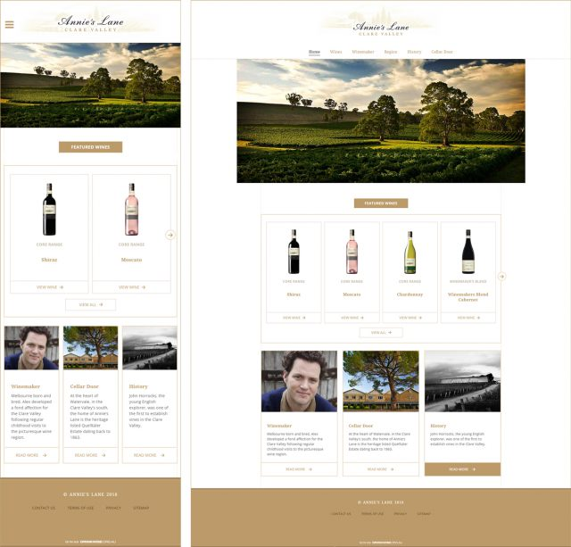 Annies Lane Website